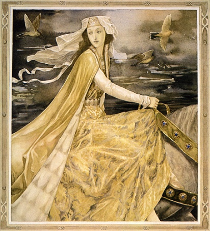 alan lee_the mabinogion_pwyll - prince of dyfed