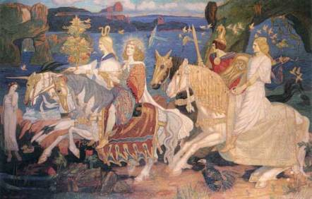 """RIDERS OF THE SIDHE"" by John Duncan"