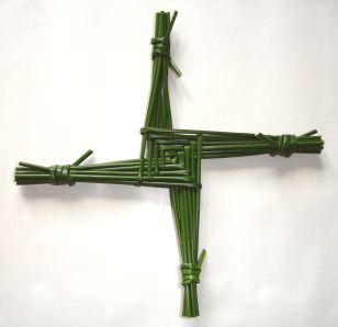 Imbolc Saint_Brigid's_cross - Wiki