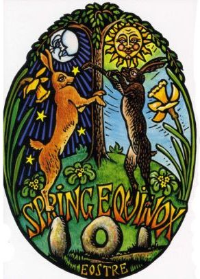 Happy Vernal Equinox >> Ostara / Spring Equinox | By Land, Sea and Sky
