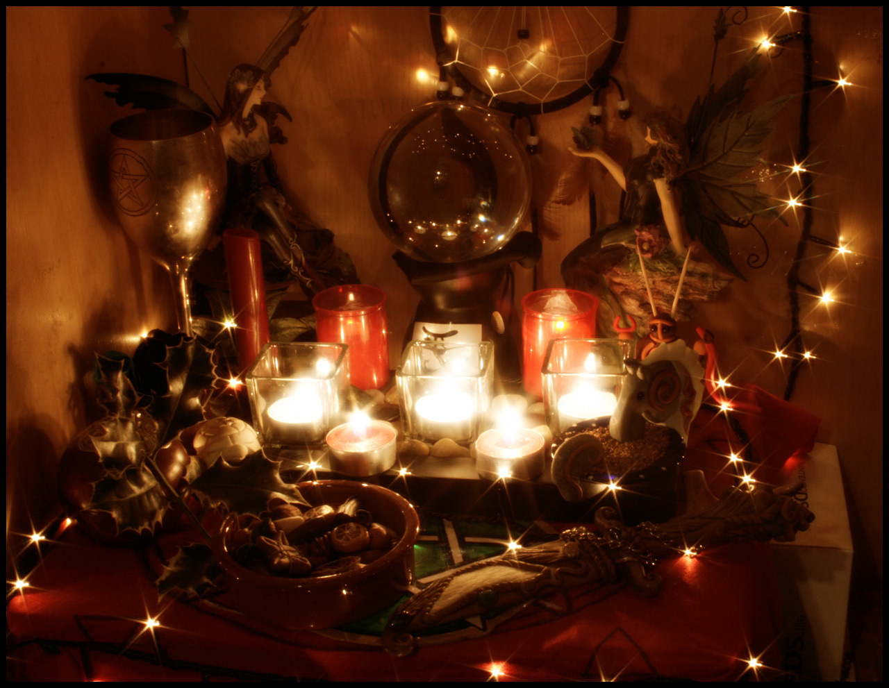 Yule Winter Solstice A Year And A Day