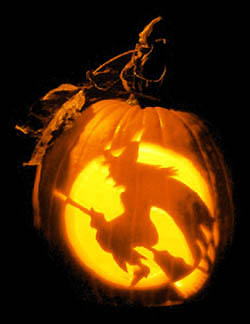 Samhain witchpumpkin